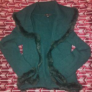 BEBE cardigan sweater